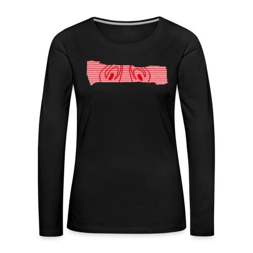 abderyckie linie - Koszulka damska Premium z długim rękawem