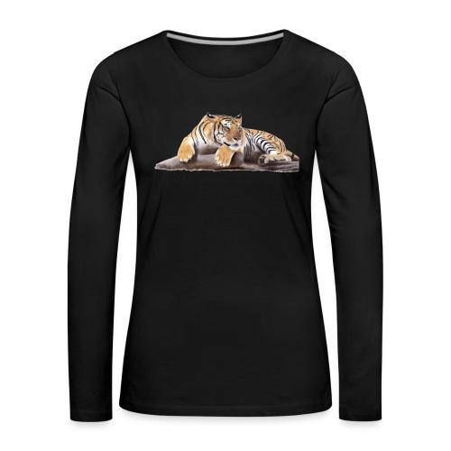Tiger - Women's Premium Longsleeve Shirt