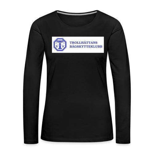 T-shirt Herr - Långärmad premium-T-shirt dam