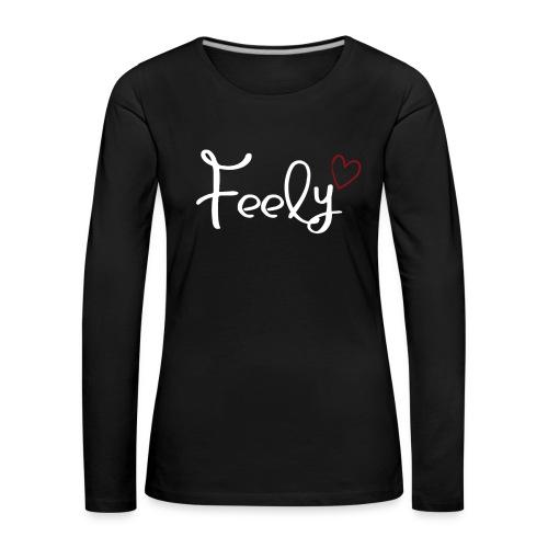 Feely love - Frauen Premium Langarmshirt
