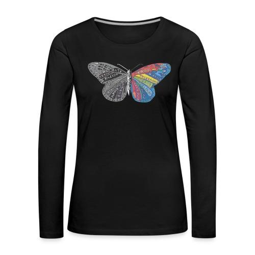 butterfly effect - Frauen Premium Langarmshirt