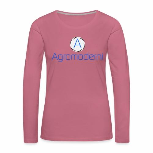 Logo png - Maglietta Premium a manica lunga da donna
