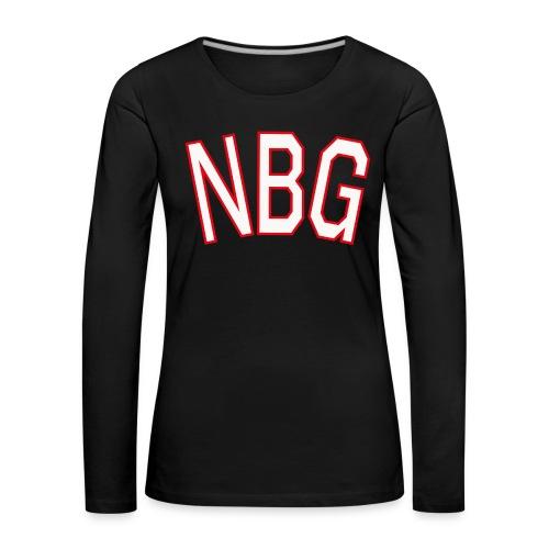 NBG College - Frauen Premium Langarmshirt