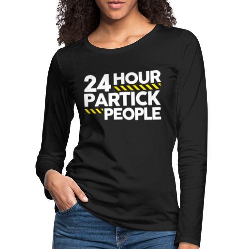 24 Hour Partick People - Women's Premium Longsleeve Shirt