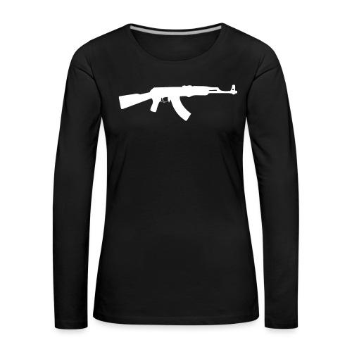 AK-47 - Naisten premium pitkähihainen t-paita