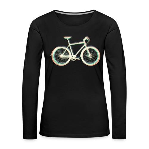 Fahrrad Bike Outdoor Fun Radsport Radtour Freiheit - Women's Premium Longsleeve Shirt