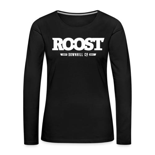 Roost Celebrator Black - Women's Premium Longsleeve Shirt