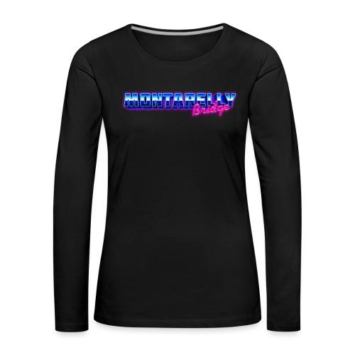 Montarelly - Maglietta Premium a manica lunga da donna