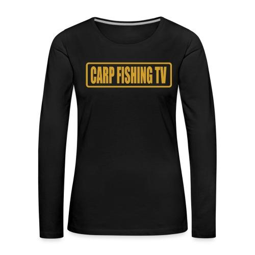carpfishing-tv - Maglietta Premium a manica lunga da donna