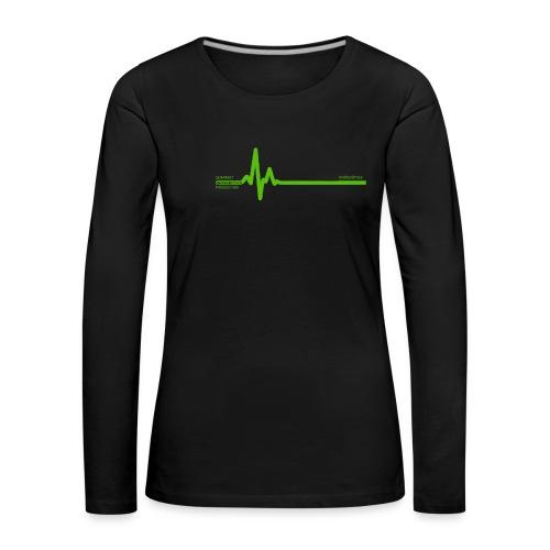 Querbeet EKG - Frauen Premium Langarmshirt