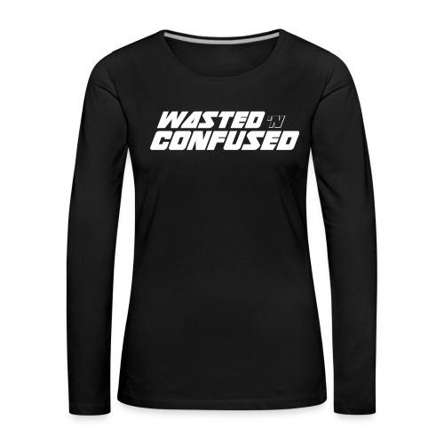 WNC OFFICIAL MERCHANDISE - Vrouwen Premium shirt met lange mouwen
