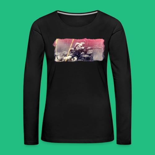 tireur couche - T-shirt manches longues Premium Femme