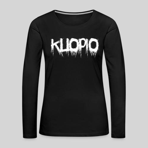 Kuopio - Naisten premium pitkähihainen t-paita