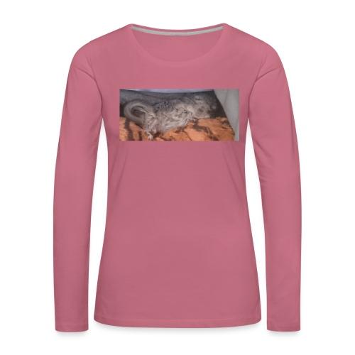 Ansku - Naisten premium pitkähihainen t-paita