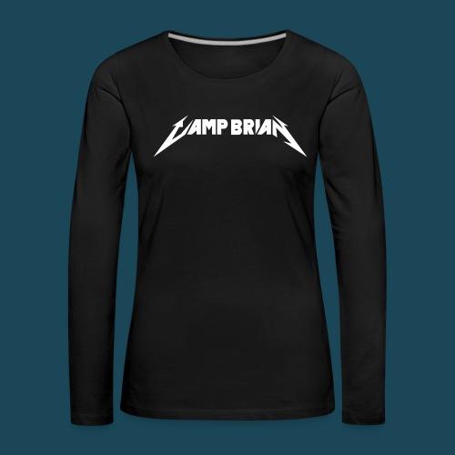 Camp Brian no skull vector - Women's Premium Longsleeve Shirt