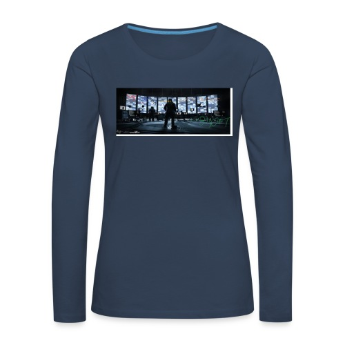hakowanie YT - Koszulka damska Premium z długim rękawem