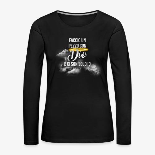Rap Art Brand - Maglietta Premium a manica lunga da donna