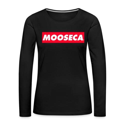 MOOSECA T-SHIRT - Maglietta Premium a manica lunga da donna