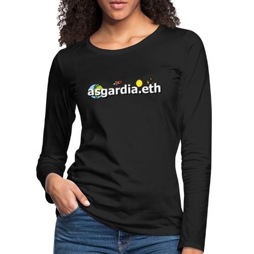 asgardia.eth - Frauen Premium Langarmshirt