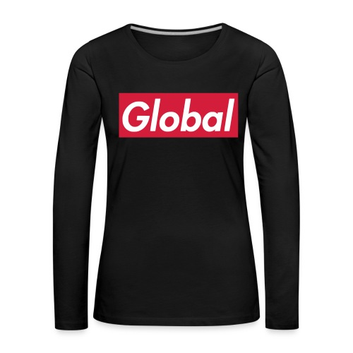 Global - Frauen Premium Langarmshirt
