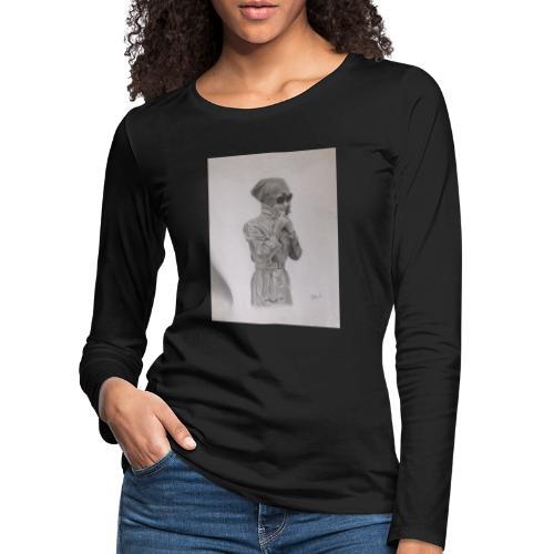 Colección Jacky - Camiseta de manga larga premium mujer