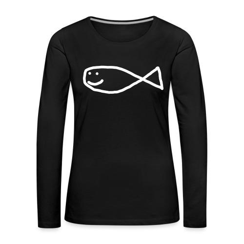 Aron Strandfisk Swagger Cap - Premium langermet T-skjorte for kvinner