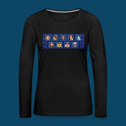 Benzaie LIVE - MUG - T-shirt manches longues Premium Femme