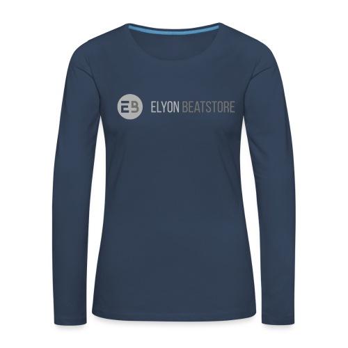 ElyonBeatstore Logo - Vrouwen Premium shirt met lange mouwen