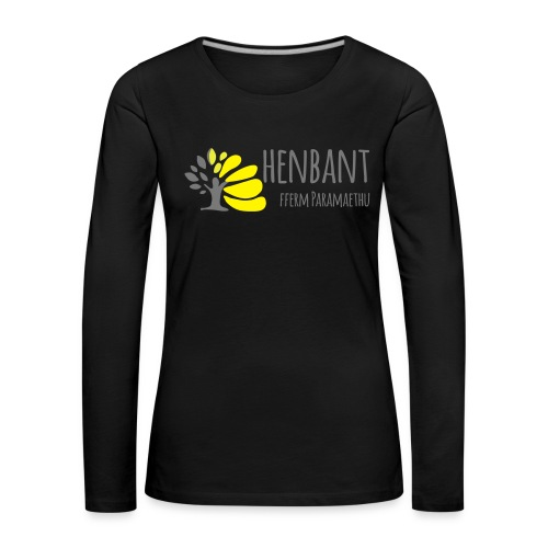 henbant logo - Women's Premium Longsleeve Shirt