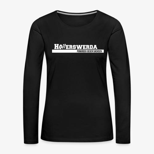 Logo Hoierswerda transparent - Frauen Premium Langarmshirt