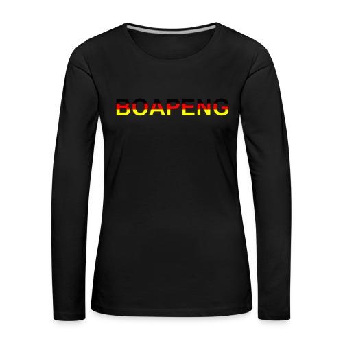 Boapeng - Frauen Premium Langarmshirt