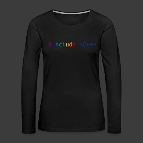 Rainbow Include - Women's Premium Longsleeve Shirt