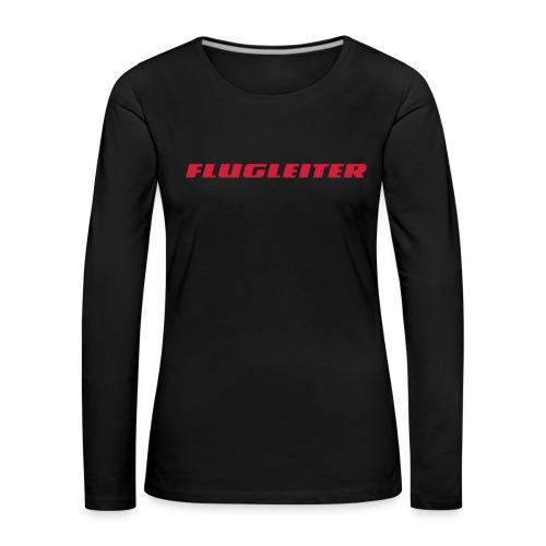 flugleiter - Frauen Premium Langarmshirt