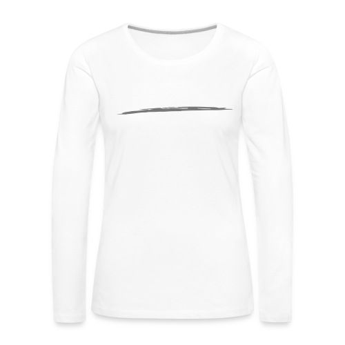 Linie_05 - Frauen Premium Langarmshirt