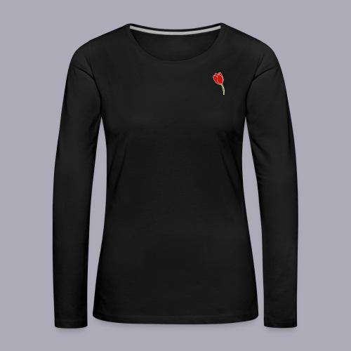 Tulip Logo Design - Women's Premium Longsleeve Shirt