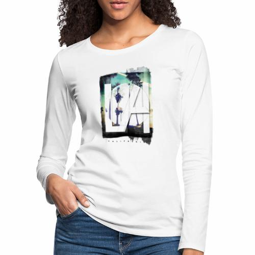 LA California - Women's Premium Longsleeve Shirt
