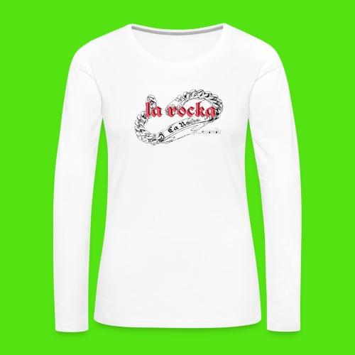 La Rocka black'n'pink tsp - Women's Premium Longsleeve Shirt