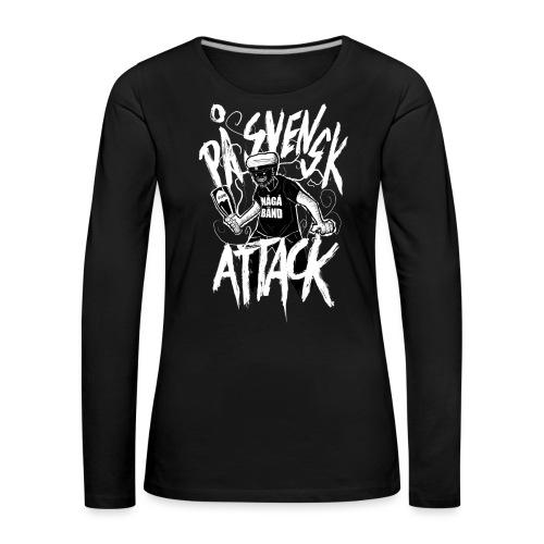 På Svenska Tack - Women's Premium Longsleeve Shirt