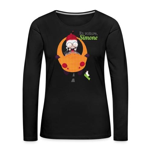 AUTOSIMONE - T-shirt manches longues Premium Femme