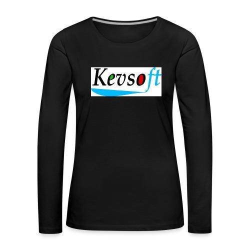 Kevsoft - Women's Premium Longsleeve Shirt