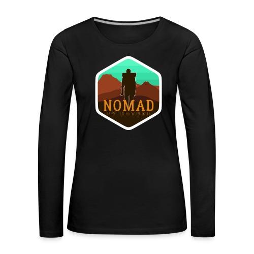 Nomad By Nature - Frauen Premium Langarmshirt
