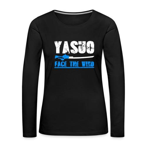 Yasuo Main - Frauen Premium Langarmshirt