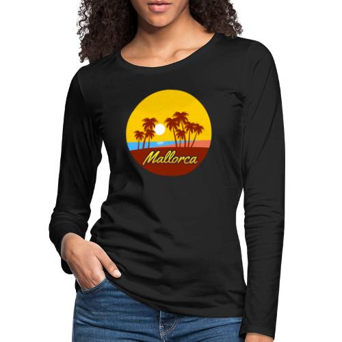Mallorca - Als Geschenk oder Geschenkidee - Frauen Premium Langarmshirt