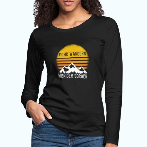 hike - Women's Premium Longsleeve Shirt
