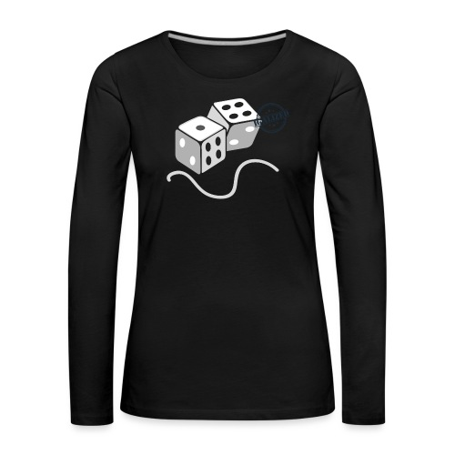 Dice - Symbols of Happiness - Women's Premium Longsleeve Shirt
