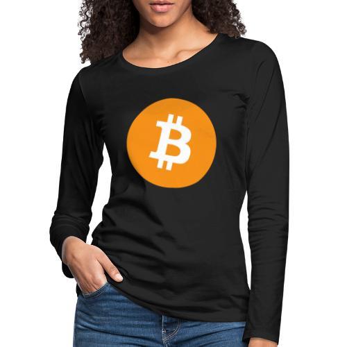 Bitcoin Shirt - Frauen Premium Langarmshirt