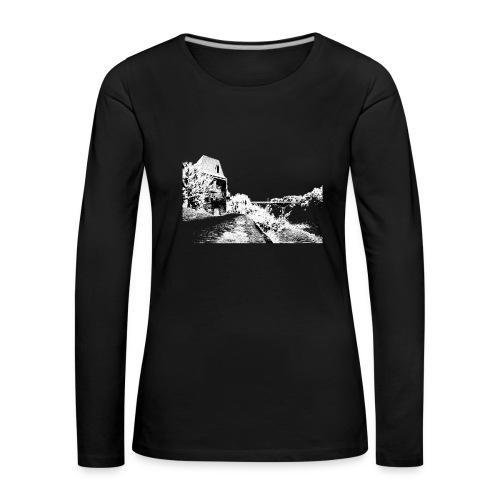 J'aime Mouleydier - Pont F - T-shirt manches longues Premium Femme