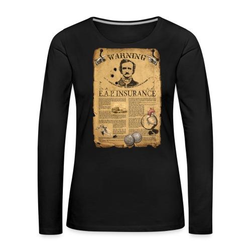 T-Shirt ALLAN POE - Maglietta Premium a manica lunga da donna