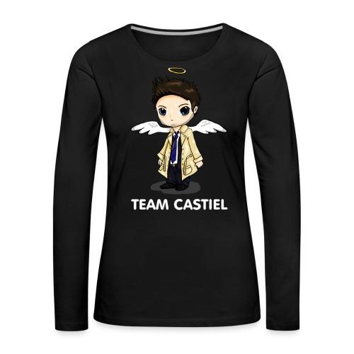Team Castiel (dark) - Women's Premium Longsleeve Shirt