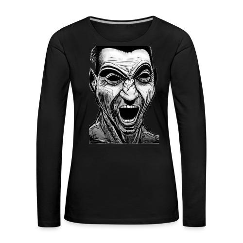 Marek's Head - Women's Premium Longsleeve Shirt